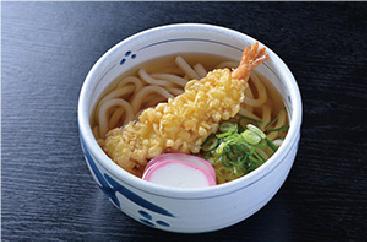 歯ごたえのあるシコシコ麺が人気の天ぷらうどん